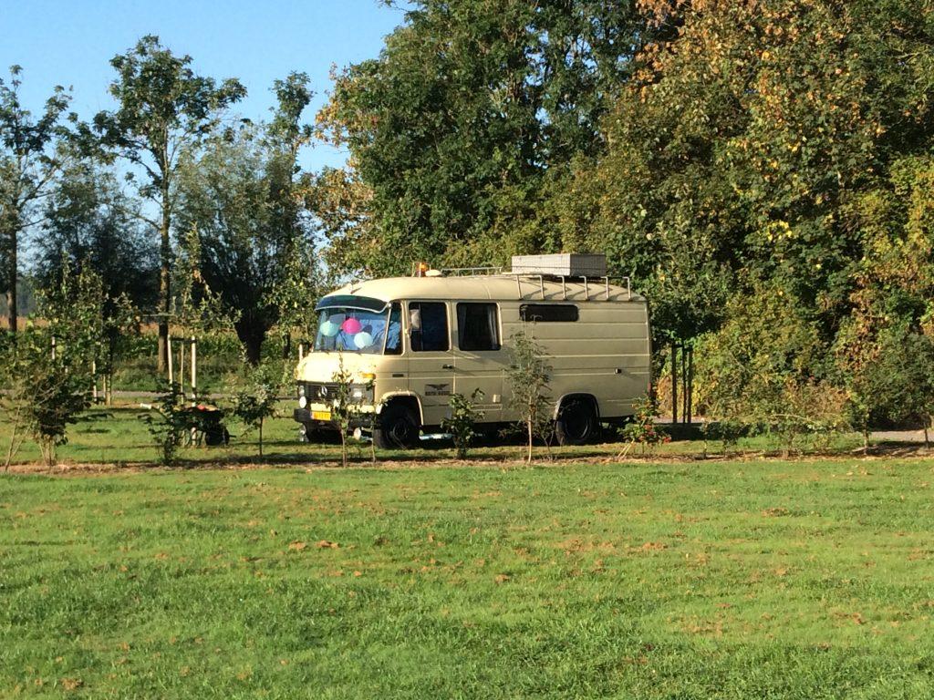 camper plaats